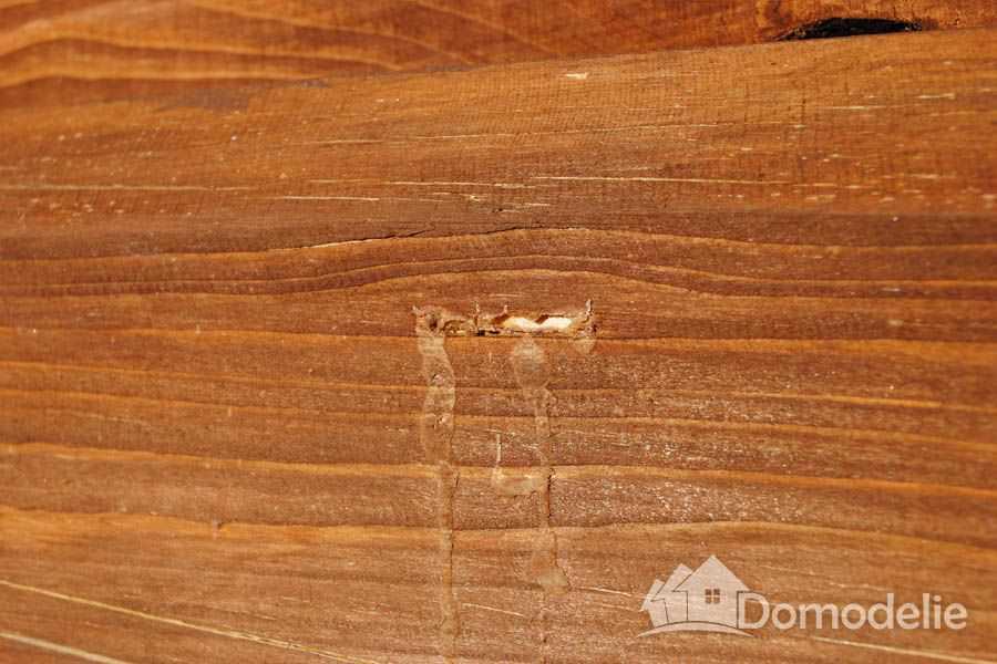 монтаж деревянного забора на даче