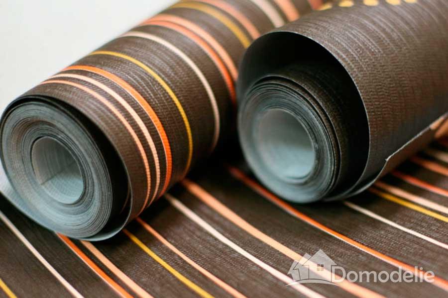 поклейка бумажных обоев под покраску или дуплексных