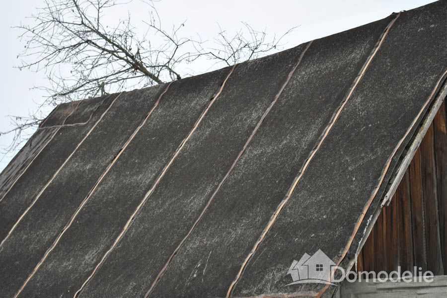 Крыша из рубероида по наклоном фото