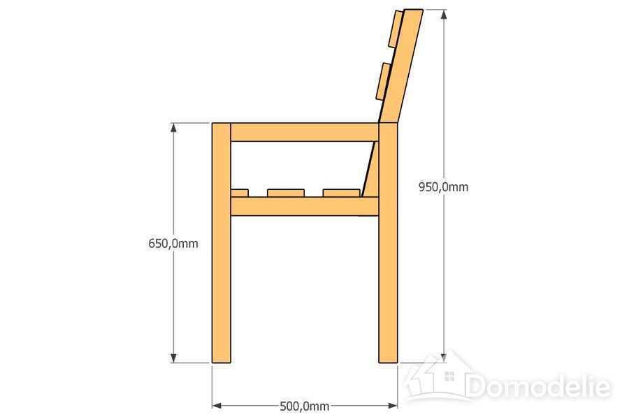 чертежи садовых скамеек
