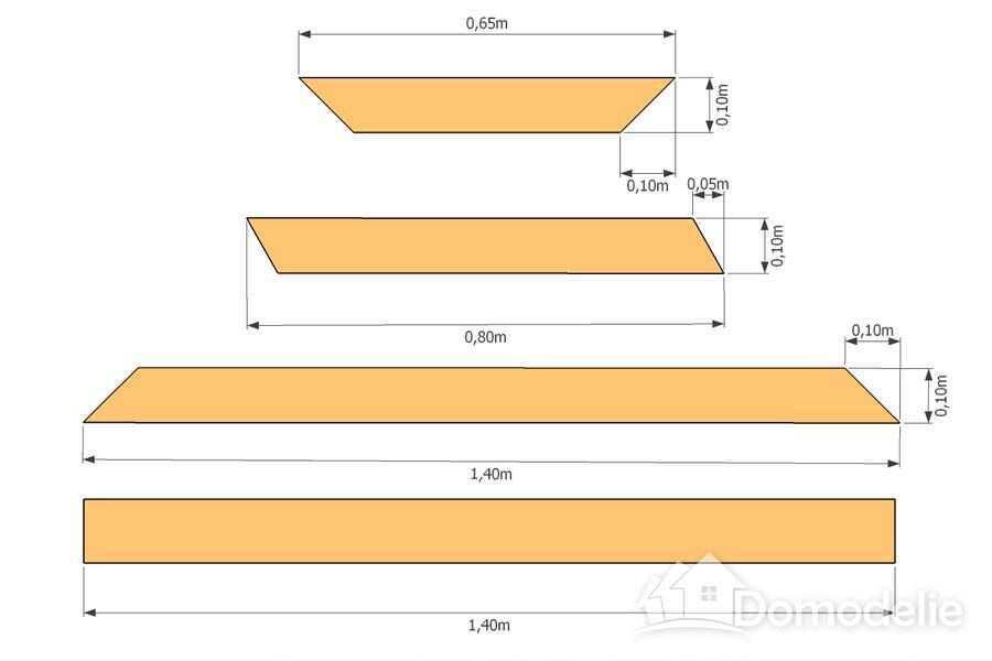 Детали стола для дачи