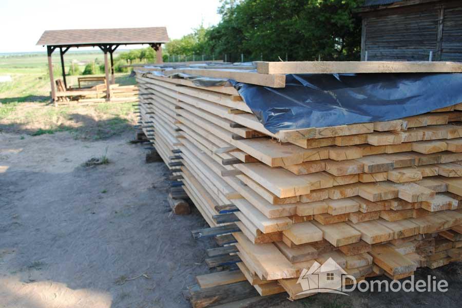 доски для каркасного дома сечением 40х150