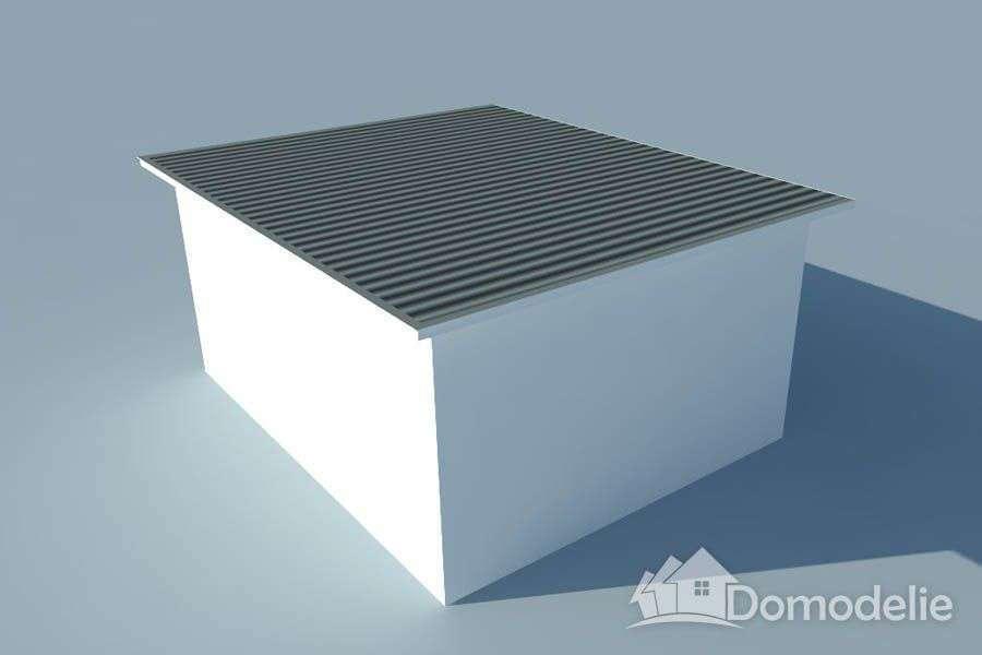 виды крыш частных домов по конструкции, плоская крыша