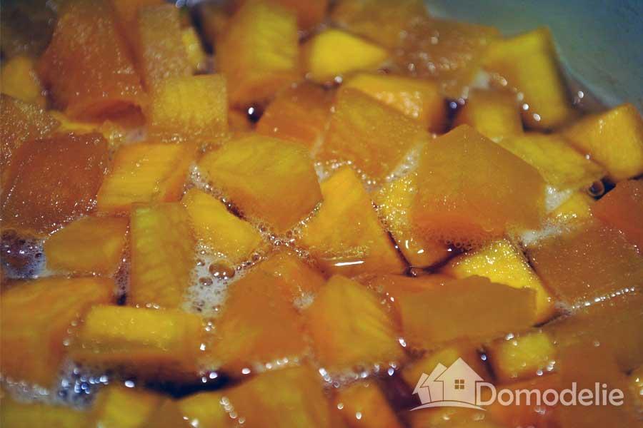 Как сделать цукаты из тыквы в домашних