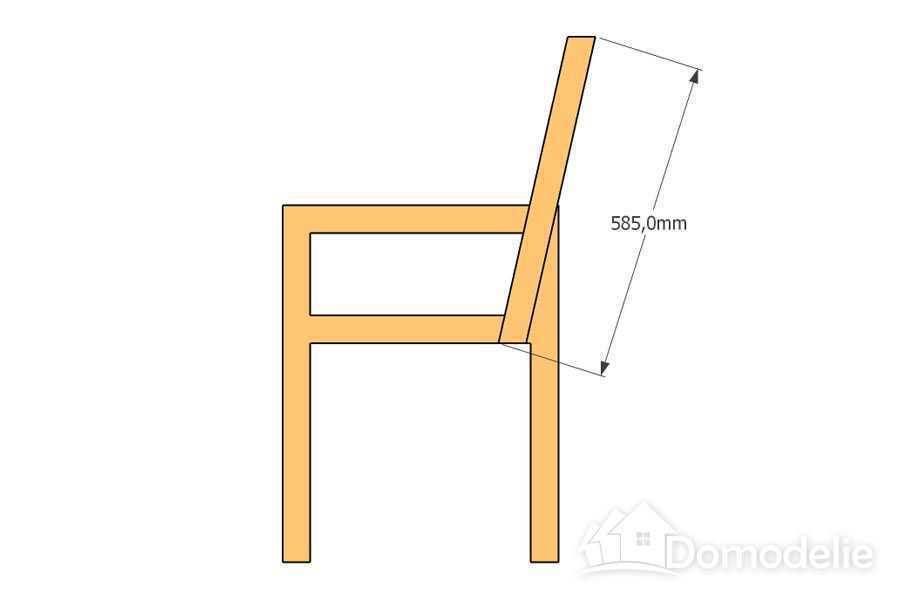 Размеры скамейки со спинкой своими руками фото 817