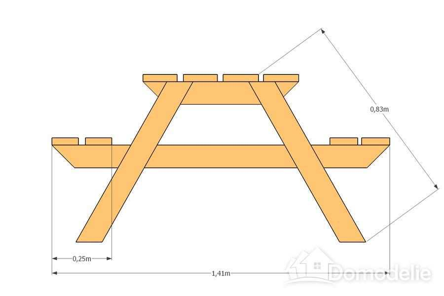Дача скамейки и столы своими руками чертежи 389